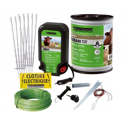 Kit clôture anti-fugue pour grand chien