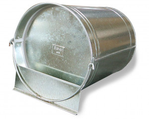 Abreuvoir seau galvanisé 12 litres