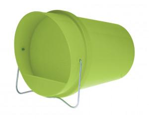 Abreuvoir seau plastique vert 6 litres