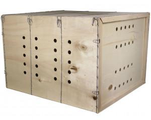 Caisse de transport en bois, taille L
