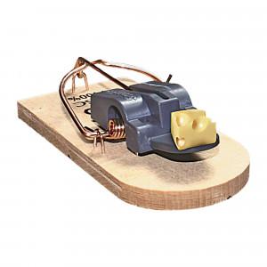 Tapette à souris en bois