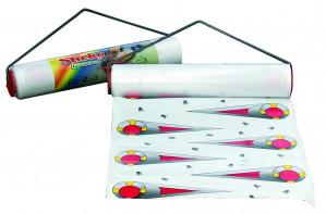 Bande attrape-mouches collante Sticky, 7m x 30cm