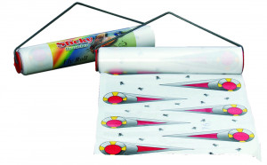 Bande attrape-mouches collante Sticky, 9m x 30cm