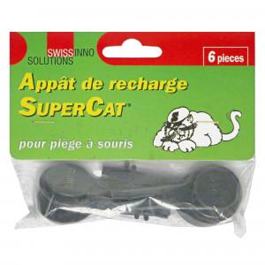 6 languettes pour tapette à souris